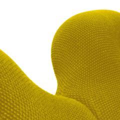 Terje Ekstrom Pair of Iconic Yellow Lounge Chairs by Terje Ekstrom Norway 1980s - 1181726