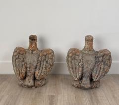 Terra Cotta Eagles England Circa 1800 A Pair - 1770075