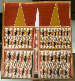 Terrence Gaypamany Gurruwiwi Aboriginal Body Painting Terrence Gurruwiwi Elcho Island Australia - 1961456