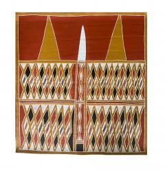 Terrence Gaypamany Gurruwiwi Aboriginal Body Painting Terrence Gurruwiwi Elcho Island Australia - 1961457
