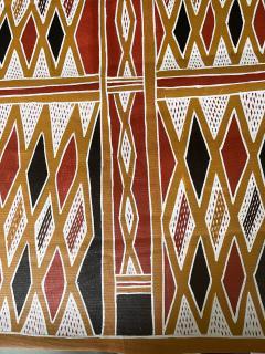 Terrence Gaypamany Gurruwiwi Aboriginal Body Painting Terrence Gurruwiwi Elcho Island Australia - 1961458