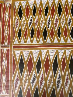 Terrence Gaypamany Gurruwiwi Aboriginal Body Painting Terrence Gurruwiwi Elcho Island Australia - 1961459