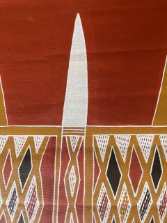 Terrence Gaypamany Gurruwiwi Aboriginal Body Painting Terrence Gurruwiwi Elcho Island Australia - 1961461