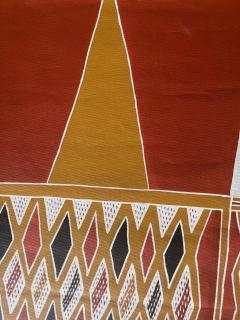 Terrence Gaypamany Gurruwiwi Aboriginal Body Painting Terrence Gurruwiwi Elcho Island Australia - 1961463