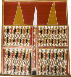 Terrence Gaypamany Gurruwiwi Aboriginal Body Painting Terrence Gurruwiwi Elcho Island Australia - 1962879