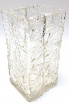 Textured 1960s Girandi Glass Vase - 321687