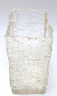 Textured 1960s Girandi Glass Vase - 321689
