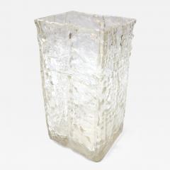 Textured 1960s Girandi Glass Vase - 322559
