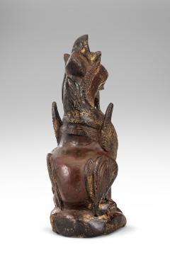 Thai Mythological Guardian Lion Sculpture - 680249