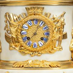 The Death of Nelson commemorative striking mantelpiece clock - 1070953