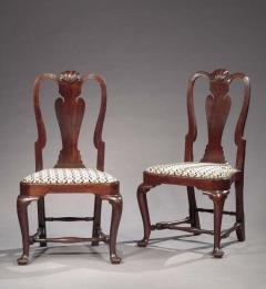 The Ebenezer Gay Pair of Queen Anne Side Chairs - 451027