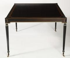 The Louis XVI Style Trompe Loeil Painted Card Table - 1558716