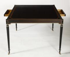 The Louis XVI Style Trompe Loeil Painted Card Table - 1558717