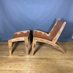 The Quilpo Lounge Chair Ottoman Dan Burstyn Argentine - 1319415