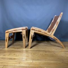 The Quilpo Lounge Chair Ottoman Dan Burstyn Argentine - 1319417