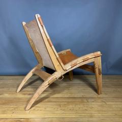 The Quilpo Lounge Chair Ottoman Dan Burstyn Argentine - 1319420