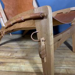 The Quilpo Lounge Chair Ottoman Dan Burstyn Argentine - 1319422