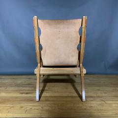 The Quilpo Lounge Chair Ottoman Dan Burstyn Argentine - 1319424