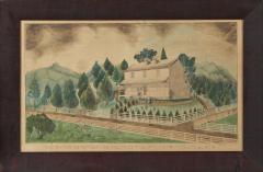 The Residence of Mrs C Boyce Near Wellsville Columbiana Co Ohio - 1403241
