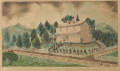 The Residence of Mrs C Boyce Near Wellsville Columbiana Co Ohio - 1405552