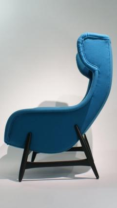 Theo Ruth Mid Century Modern Armchair from Artifort DUX 1950s - 2003209