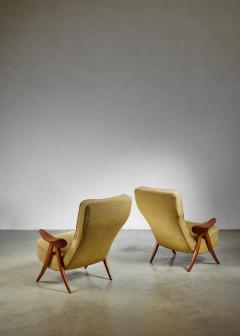 Theo Ruth Pair Theo Ruth chairs The Netherlands 1950s - 783759