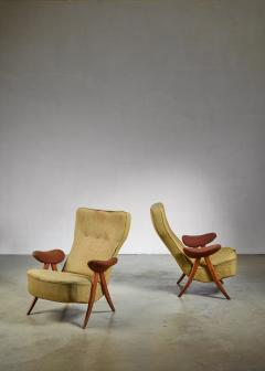 Theo Ruth Pair Theo Ruth chairs The Netherlands 1950s - 783760