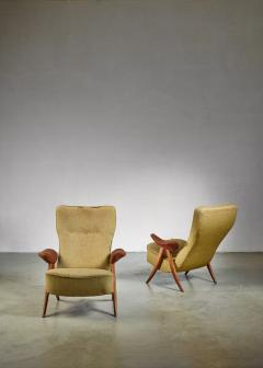 Theo Ruth Pair Theo Ruth chairs The Netherlands 1950s - 783765