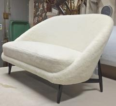 Theo Ruth Theo Ruth for Artifort rare couch newly covered in wool faux fur - 1783384