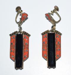 Theodor Fahrner Earrings Art Deco 1925 - 739217