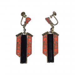 Theodor Fahrner Earrings Art Deco 1925 - 751069