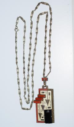 Theodor Fahrner Pendant Necklace Art Deco - 739205