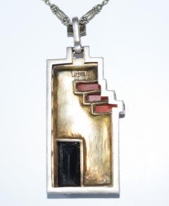 Theodor Fahrner Pendant Necklace Art Deco - 739206