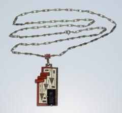 Theodor Fahrner Pendant Necklace Art Deco - 739207