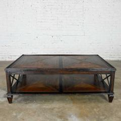Theodore Alexander Sumner coffee or cocktail table marst hill collection by theodore alexander - 2130395