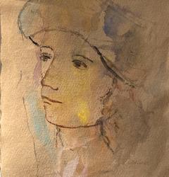 Theodore Milton Wassmer Figure with Hat  - 1866659