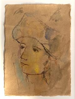 Theodore Milton Wassmer Figure with Hat  - 1866663