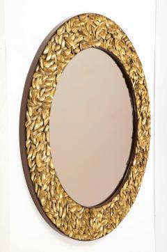 Thomas Boog Thomas Boog French Unique Gilded Mussel Shell Mirror - 2037738