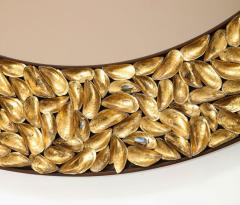 Thomas Boog Thomas Boog French Unique Gilded Mussel Shell Mirror - 2037745