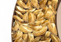 Thomas Boog Thomas Boog French Unique Gilded Mussel Shell Mirror - 2037760