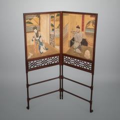 Thomas Chippendale A George III Folding Firescreen in the Chinese Chippendale Taste - 930058