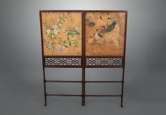 Thomas Chippendale A George III Folding Firescreen in the Chinese Chippendale Taste - 930070