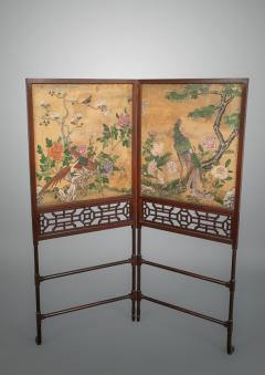 Thomas Chippendale A George III Folding Firescreen in the Chinese Chippendale Taste - 930123