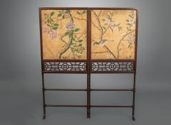 Thomas Chippendale A George III Folding Firescreen in the Chinese Chippendale Taste - 930124