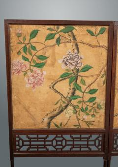 Thomas Chippendale A George III Folding Firescreen in the Chinese Chippendale Taste - 930126