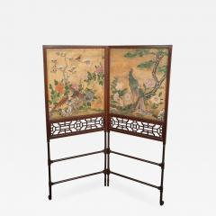 Thomas Chippendale A George III Folding Firescreen in the Chinese Chippendale Taste - 931417