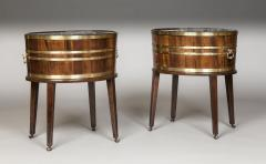 Thomas Chippendale Antique English Rare Pair of Georgian Period Oval Wine Coolers Jardinieres - 1220773