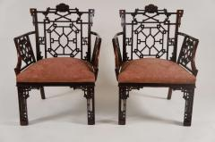Thomas Chippendale Chinese Chippendale Armchairs Lord Leverhulme - 842666