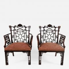 Thomas Chippendale Chinese Chippendale Armchairs Lord Leverhulme - 843647