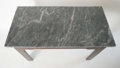 Thomas Chippendale English Georgian Marble Top Mahogany Slab or Side Table - 1034256